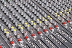 ήχος αναμικτών Στοκ φωτογραφία με δικαίωμα ελεύθερης χρήσης