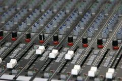 ήχος αναμικτών Στοκ εικόνα με δικαίωμα ελεύθερης χρήσης