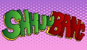 ήχος βλημάτων shuubang απεικόνιση αποθεμάτων