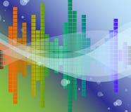 ήχος διαγραμμάτων απεικόνιση αποθεμάτων