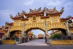 Ήχος καμπάνας-μακριά πίστη ναών που είναι κέντρο πολιτισμού στο donggang στο pingtung στοκ εικόνες με δικαίωμα ελεύθερης χρήσης