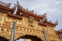 Ήχος καμπάνας-μακριά πίστη ναών που είναι κέντρο πολιτισμού στο donggang στο pingtung στοκ φωτογραφία με δικαίωμα ελεύθερης χρήσης