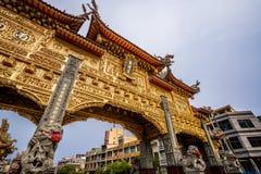 Ήχος καμπάνας-μακριά πίστη ναών που είναι κέντρο πολιτισμού στο donggang στο pingtung στοκ εικόνες