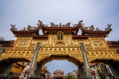 Ήχος καμπάνας-μακριά πίστη ναών που είναι κέντρο πολιτισμού στο donggang στο pingtung στοκ εικόνα με δικαίωμα ελεύθερης χρήσης