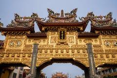 Ήχος καμπάνας-μακριά πίστη ναών που είναι κέντρο πολιτισμού στο donggang στο pingtung στοκ εικόνα