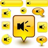 ήχος σημαδιών απεικόνιση αποθεμάτων