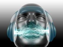 ήχος του DJ Στοκ Φωτογραφία