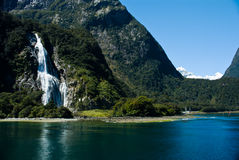 Ήχος Milford, Νέα Ζηλανδία Στοκ Εικόνες