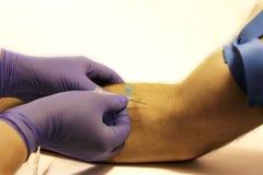 λήψη αίματος στοκ εικόνες με δικαίωμα ελεύθερης χρήσης