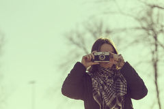 λήψη φωτογραφιών Στοκ Φωτογραφία
