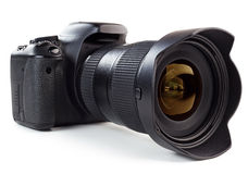 4 ήδη όντας φωτογραφική μηχανή ψηφιακή έχει απομονώσει τα χρησιμοποιημένα άσπρα έτη Στοκ Φωτογραφίες