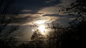 ήλιοι δύο Στοκ φωτογραφία με δικαίωμα ελεύθερης χρήσης