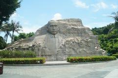 ήλιος αγαλμάτων zhongshan Στοκ εικόνα με δικαίωμα ελεύθερης χρήσης