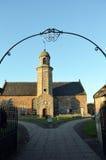 Ήλιος βραδιού στην εκκλησία κοινοτήτων Elie, Fife Στοκ φωτογραφία με δικαίωμα ελεύθερης χρήσης
