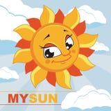 ήλιος επίσης corel σύρετε το διάνυσμα απεικόνισης Στοκ Φωτογραφία