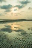 Ήλιος και έδαφος αντανάκλασης Στοκ φωτογραφία με δικαίωμα ελεύθερης χρήσης