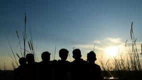 Ήλιος και αγόρια στοκ φωτογραφίες