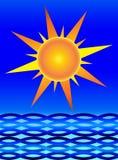 Ήλιος και θάλασσα Στοκ Εικόνες