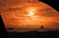 Ήλιος και σύννεφα Στοκ εικόνες με δικαίωμα ελεύθερης χρήσης