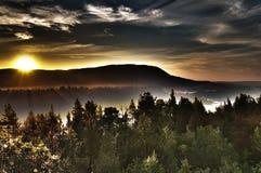 Ήλιος μεσάνυχτων Στοκ φωτογραφία με δικαίωμα ελεύθερης χρήσης