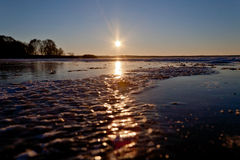 Ήλιος πάγου Στοκ φωτογραφίες με δικαίωμα ελεύθερης χρήσης