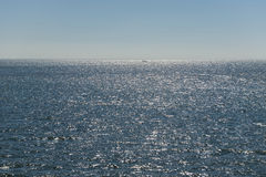 Ήλιος πέρα από την ολλανδική Wadden θάλασσα στοκ φωτογραφία με δικαίωμα ελεύθερης χρήσης