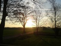 Ήλιος πρωινού στοκ φωτογραφία