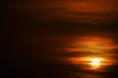Ήλιος στον ουρανό Στοκ εικόνες με δικαίωμα ελεύθερης χρήσης
