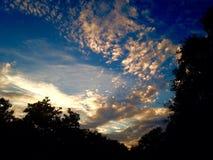 Ήλιος χωρών Hill Στοκ φωτογραφία με δικαίωμα ελεύθερης χρήσης