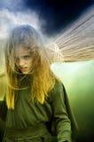 λίγη μάγισσα Στοκ φωτογραφία με δικαίωμα ελεύθερης χρήσης