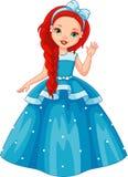 λίγη πριγκήπισσα διανυσματική απεικόνιση