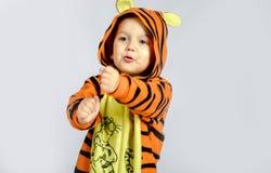 λίγη τίγρη Στοκ Φωτογραφία