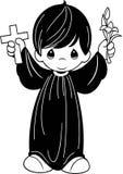 λίγος ιερέας Στοκ Φωτογραφίες