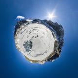 λίγος πλανήτης Το βουνό Σιβηριανός Στοκ εικόνες με δικαίωμα ελεύθερης χρήσης
