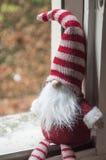 λίγο γενειοφόρο Leprechaun για τη διακόσμηση Χριστουγέννων Στοκ Φωτογραφίες