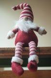 λίγο γενειοφόρο Leprechaun για τη διακόσμηση Χριστουγέννων Στοκ εικόνα με δικαίωμα ελεύθερης χρήσης