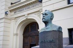 ίδρυμα Νόμπελ νορβηγικά στοκ εικόνες