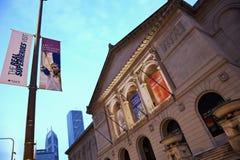 ίδρυμα του Σικάγου τέχνης Στοκ Εικόνες