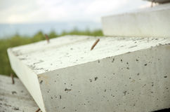 λίθος που συγκεκριμένος νέος κατώτερος κατασκευής Στοκ φωτογραφίες με δικαίωμα ελεύθερης χρήσης