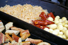 δίκαια τρόφιμα οδών Στοκ φωτογραφίες με δικαίωμα ελεύθερης χρήσης