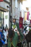 δίκαιος μεσαιωνικός στοκ εικόνα