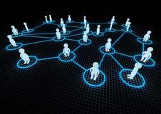 δίκτυο έννοιας κοινωνικό Στοκ Εικόνες