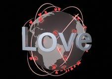 δίκτυο αγάπης Στοκ εικόνες με δικαίωμα ελεύθερης χρήσης