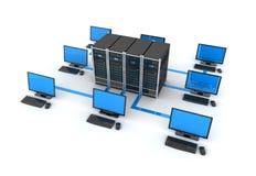 Δίκτυο PC Στοκ εικόνα με δικαίωμα ελεύθερης χρήσης