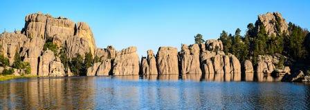 λίμνη δασική Στοκ εικόνα με δικαίωμα ελεύθερης χρήσης