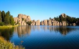λίμνη δασική Στοκ φωτογραφίες με δικαίωμα ελεύθερης χρήσης