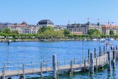 λίμνη Ζυρίχη Στοκ φωτογραφίες με δικαίωμα ελεύθερης χρήσης