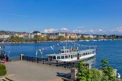 λίμνη Ζυρίχη Στοκ Φωτογραφίες