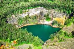 λίμνη ηφαιστειακή Στοκ εικόνα με δικαίωμα ελεύθερης χρήσης
