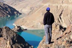 λίμνη Θιβέτ Στοκ Φωτογραφίες